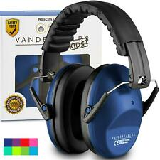 Hearing Protection Earmuffs Ear Defenders for Kids Toddlers Children Marine Blue