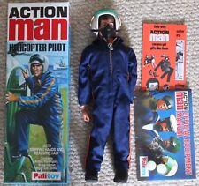 Vintage Action Man 40th Anniversaire pilote d'hélicoptère Boxed