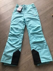 Nevica Womens Ski Salopettes Brand New Size 8 (XS) Meribel Pant Aqua Blue