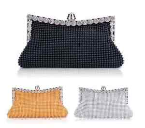 GREAT GATSBY CHARLESTON EVENING PURSE BAG CLUTCH GOLD SEQUIN SILVER BLACK BEADED