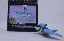 Blue Jay Window Magnet, Fly-In Window Ornament, The Clark Collection
