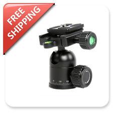 Camera Swivel Tripod Ball Head Adapter Mount w/Arca Swiss Quick Release Plate