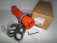 New In Box Hubbell Hbl4100p12w 100 Amp Plug 4100p12w 100a 125250v 3p 4w