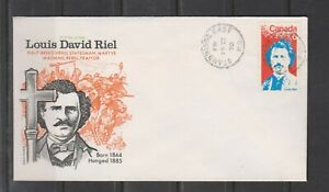 Can 515 - 1970 6c Louis Riel - FDC By Cole Cover