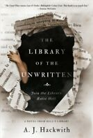 Library of the Unwritten, Paperback by Hackwith, A. J., Like New Used, Free P...