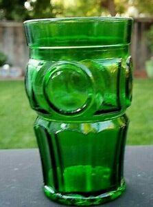 """WHEATON Green 5"""" Bullseye Tumbler"""