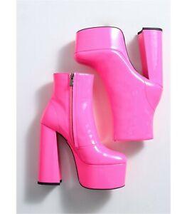 Plateau Stiefel Ellie Tailor Antonia pink: EUR 44
