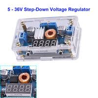 2 in 1 Step-Down 5-36V DC Converter Converter Stabilizer Voltage Regulator LED