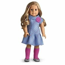 American Girl SWEET SCHOOL DRESS outfit shoes socks barrette charm NO DOLL