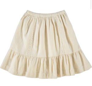 Designer 🍒Bonpoint Ivory Crochet Maxi Boho Skirt 10y BNWT RRP €140