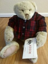 "22"" Bunnies By the Bay Eddie Bauer Teddy Bear Plush Limited #2242 of 7000 RARE"