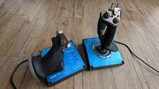 Saitek X45 Flight Controller HOTAS Joystick mit Schubregler - gebraucht