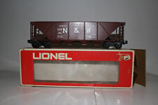 LIONEL #6-9111 NORFOLK & WESTERN N&W 4-BAY HOPPER CAR, EXCELLENT, BOXED #2