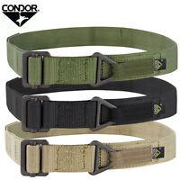 Condor RB Tactical Military Duty Rigger Belt S M L  Olive Black Tan