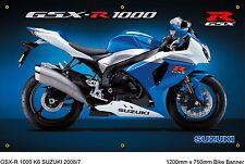 SUZUKI GSX-R 1000 K6 Weatherproof Banner Garage/Workshop 1.2mtr x 750mm