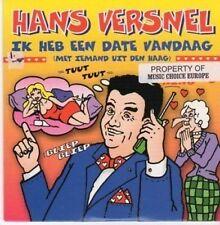 (BG422) Hans Versnel, Ik Heb Een Date Vandaag - 1997 CD