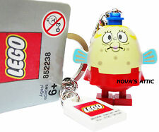 LEGO SPONGEBOB SQUAREPANTS  MRS PUFF KEYRING KEYCHAIN