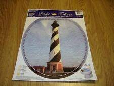 Cape Hatteras Lighthouse removable toilet seat tattoo New!