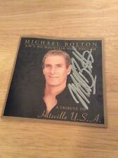 SIGNED - Ain't No Mountain High Enough: A Tribute to Hitsville Michael Bolton CD