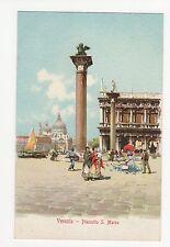 Italy, Venezia, Piazzo S. Marco Art Postcard, A591a