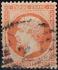 FRANCE EMPIRE N° 23 OBLITERE PAR RARE CACHET ESPAGNOL 2