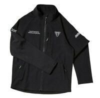 Triumph Motorcycles Moto 2 Softshell Jacket Mens Black Jacket NEW MSWS19502