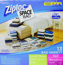 Ziploc Space Saver Bags Vacuum Seal Bag 13 Bag Clothing Storage Organization