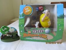 LOT 2 M&M COLLECTIBLES  CANDY DISPENSER GOLF SOCCER PLAYER