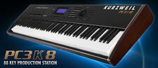Kurzweil PC3K8 88 Key Production Station Keyboard + Bag, KORE 64 & Controller