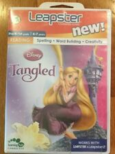 New Leapster Game Disney Tangled Reading Spelling Word Building