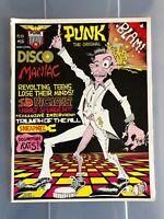 1979 PUNK Magazine # 16 Sid Vicious Sex Pistols on ps John Holmstom Nanci