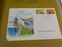 First Day Covers From Around The World - Postal Commemorative Society, 1980