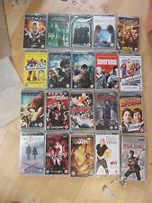 PSP UMD Bundle Joblot  x 20 new and sealed 20 movies RRP £50 + (box 24)