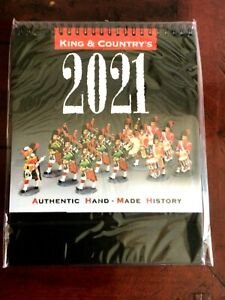 King and Country Toy soldier 2021 calender. NIB