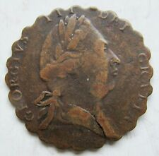 Great Britain Middlesex National Series Halfpenny Token JEHOVAH HEARD
