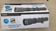 Obiettivi a focus manuale per fotografia e video Canon F/8.0