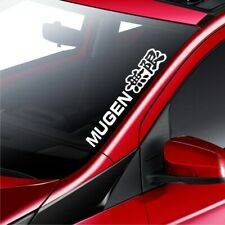 Honda Mugen Car Windscreen Civic ACCORD Fit CR-V Sticker Rear Window Bumper Deca