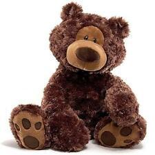 GUND Bear Philbin Dark Brown Large Plush 47cm