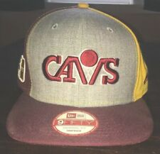 New Era Cleveland Cavaliers Maroon 9FIFTY Snapback Adjustable Hat