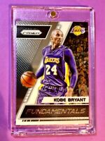 Kobe Bryant PANINI PRIZM HOT LAKERS FUNDAMENTALS INSERT CARD #2 - Mint!