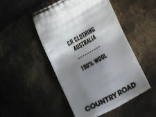 COUNTRY RD 100%WoolShortStretchPanelledSkirt SzXS