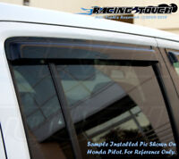 For Dodge Sprinter 2500 07-10 Dark Grey Out-Channel Window Visor Sun Guard 2pcs
