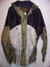 Stearns Waterproof Hooded Rain Jacket, Men's Large