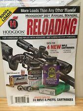 Hodgdon 2021 Annual Manual Reloading Guide Magazine Handgun Rifle