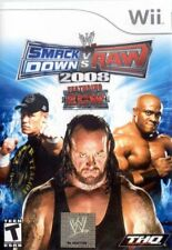 WWE SmackDown vs. Raw 2008 Featuring ECW (Wii, 2007) LN COMPLETE FREE SHIPPING