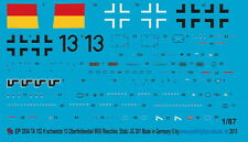 1/87 EP 2954 Ta 152 H NERO 13 SERGENTE Willi Reschke 9 JG 301