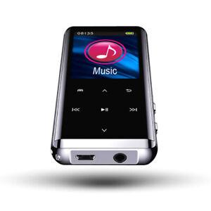 Bluetooth Verlustfreier MP3-Player HiFi Portable Audio Player Recorder-Stift FM
