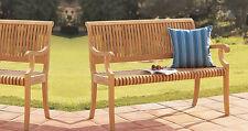 Giva Grade-A Teak 4 Feet Outdoor Garden Patio Luxurious Bench Furniture New