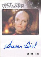 Quotable Star Trek Voyager Susan Diol Dr. Danara Pel LIMITED Autograph MINT RARE