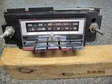 Vintage Gm Delco AM-FM Radio Delco Part # 995930 GM 2700 Nice Condition Reduced